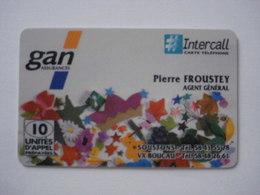 Carte Prépayée Française INTERCALL (neuve Non Gratter) Tirage 100 Ex . Carte Exceptionnelle Et Pas Signaler ! - Cellphone Cards (refills)