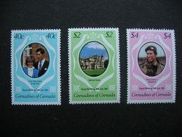 Grenadines Of Grenada Royal Wedding 1981 MNH - Timbres