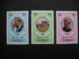 Antigua Royal Wedding 1981 MNH - Timbres