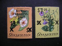 Guyana Royal Wedding Black Surcharge 1981 MNH - Guyane (1966-...)