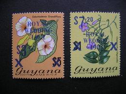 Guyana Royal Wedding Blue Surcharge 1981 MNH - Guyane (1966-...)