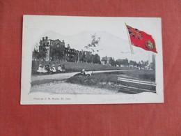 Canada > New Brunswick > St. John    Embossed Flag Queen Square       Ref 3093 - St. John