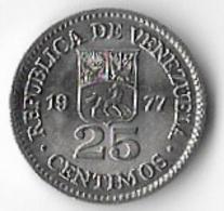 Venezuela 1977 25 Centimos [C002/1D] - Venezuela