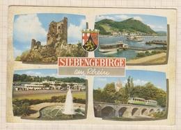8AK4026 Siebengebirge Am Rhein MULTI VUES 2 SCANS - Koenigswinter