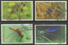 Thailand - 1989 Dragonflies Used   Sc 1323-6 - Thailand