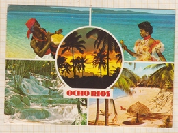 8AK4028 OCHO RIOS JAMAIQUE 2 SCANS - Jamaïque