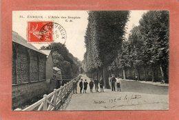 CPA - EVREUX (27) - Thème : Arbre - Aspect De L'allée Des Soupirs En 1908 - Evreux