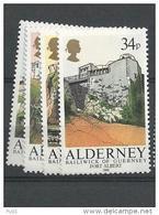 1986 MNH Alderney  Year Complete, Postfris - Alderney