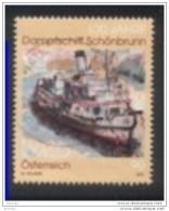 2012 - 2997 - 100 Jahre Dampfschiff  Schönbrunn - 1945-.... 2. Republik