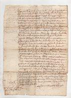 Acte 1655 - Manuscrits