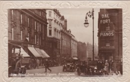 BIRMINGHAM - NEW STREET FROM VICTORIA SQUARE - Birmingham