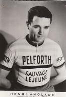 Cycliste Henri Anglade équipe PELFORTH (lot AE18) - Cyclisme