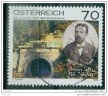 2013 -3064 - ° -  Julius Lott (1836-1883), Eisenbahnpionier, Bauleiter Der Arlbergbahn - 1945-.... 2. Republik