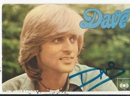 Chanteur  Dave - Chanteurs & Musiciens