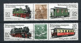 DDR Nr.2562/5 Streifen          O  Used       (21820) ( Jahr: 1980 ) - DDR