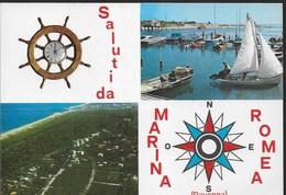 SALUTI DA MARINA ROMEA - VIAGGIATA 1987 - Saluti Da.../ Gruss Aus...
