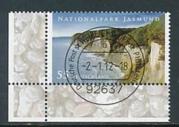 GERMANY Mi. Nr. 2900 Nationalpark Jasmund - ET Weiden - Eckrand Unten Links - Used - [7] République Fédérale