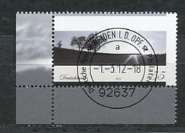 GERMANY Mi. Nr. 2920 Trauermarke - ET Weiden - Eckrand Unten Links - Used - [7] République Fédérale