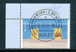 GERMANY Mi. Nr. 2933 Europa: Besuche Post: Ferien In Deutschland - ET Weiden - Eckrand Oben Links - Used - [7] République Fédérale