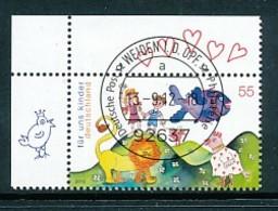 GERMANY Mi. Nr. 2952 Für Uns Kinder. - ET Weiden - Eckrand Oben Links - Used - [7] République Fédérale