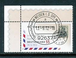 GERMANY Mi. Nr. 2954 Tag Der Briefmarke - ET Weiden - Eckrand Oben Links - Used - [7] République Fédérale