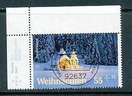 GERMANY Mi. Nr. 2961 Weihnachten - ET Weiden - Eckrand Oben Links - Used - [7] République Fédérale