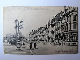 BELGIQUE - LIEGE - Avenue Rogier - 1917 - Liege