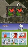 Post -Snoopy 2000 Portugal Block 165+Acores Bl.25 ** 12€ Brief CEPT Hb S/s Blocs M/s Art Sheets Comic Bf Philatelic - Blocks & Kleinbögen