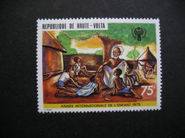 Upper Volta Year Of The Child 1979 MNH - Upper Volta (1958-1984)