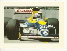 SPORT AUTOMOBILE GRAND PRIX F1 / WILLIAMS RENAULT - VICTOIRE De THIERRY BOUTSEN - GRAND PRIX AUSTRALIE 1989 - Grand Prix / F1