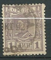 Serbie  -   Yvert N°   39   Oblitéré   - Ai 27519 - Serbie