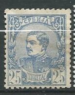 Serbie  -   Yvert N°   30   Oblitéré   - Ai 27520 - Serbie
