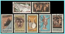 GREECE- GRECE- HELLAS 1959: Ancient Greek Theatre Complet Set  Used - Grèce