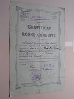 CERTIFICAT De Bonne CONDUITE Soldat ..... Né 1910 - Anno Paris 1932 ( Voir Le Document Pour Détail ) ! - Documents