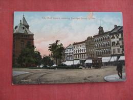 Canada > Quebec  City Hall Square      Ref 3093 - Quebec