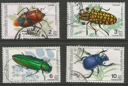 Thailand - 1989 Beetles Used   Sc 1333-6 - Thailand