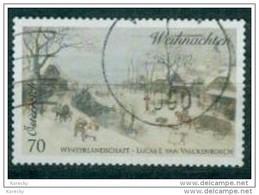 2014 - 3173 - ° - Weihnachten -  Winterlandschaft; Gemälde Von Lukas Van Valckenborch (1535-1597 - 1945-.... 2. Republik