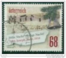 """2016 - 3304 - ° -  Zeile Aus Dem Weihnachtslied  Stille Nacht""""; - 1945-.... 2. Republik"""