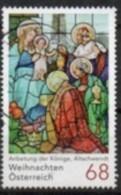2017 - 3372 - ° -  Weihnachten - Anbetung Der Könige; Glasfenster (1914) In Der Pfarrkirche Altschwendt - 1945-.... 2. Republik