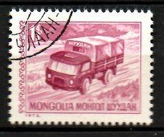 MONGOLIE. N°661 De 1973 Oblitéré. Camion. - LKW