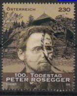 2018 - 3402 - ° - 100. Todestag Von Peter Rosegger - 1945-.... 2ème République