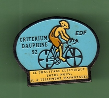 EDF *** CRITERIUM DAUPHINE 92 *** EDF-03 - EDF GDF