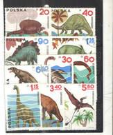 Polonia PO 1965 Animali Preestorici  Scott.1307/1316+See Scan On Scaubek Page; - 1944-.... Repubblica