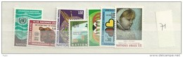 1971 MNH UNO Geneve, Geneva, Genf, Year Complete, Postfris - Ginevra - Ufficio Delle Nazioni Unite