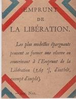 EMPRUNT DE LA LIBÉRATION - Militaria