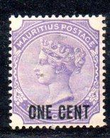 R1777 - MAURITIUS 1885 , Yvert N. 76  * - Mauritius (...-1967)