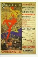 VIEILLE AFFICHE (CPM CLOUET) / CONTREXEVILLE  - ORAZY - Cartes Postales