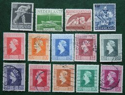 Bevrijdingszegels 40 Ct MISSSING NVPH 428-440 442 (Mi 428-440 442) 1944-1946 Gestempeld / Used NEDERLAND / NIEDERLAND - Period 1891-1948 (Wilhelmina)