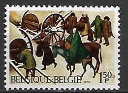BELGIQUE   -  1969.   Y&T N° 1517 * .  Noêl  /  Breughel - Nuovi