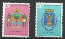 "Senegal YT 320 & 321 "" Armoiries "" 1969 Neuf** - Senegal (1960-...)"